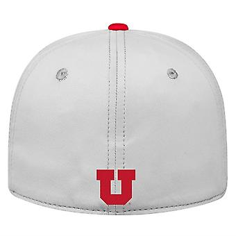 Utah Utes NCAA TOW Impact Gray Stretch Fitted Hat