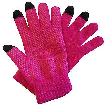 BTP-GLV-NS-HTPKBoss Tech Knit Non-Skid Touchscreen Gloves for Cell Phones, Smart