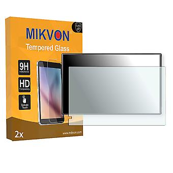 Garmin nüvi 2699LMT Screen Protector - Mikvon flexible Tempered Glass 9H (Retail Package with accessories)