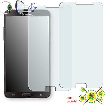 Samsung Galaxy round display protector - Disagu ClearScreen protector (deliberately smaller than the display, as this is arched)
