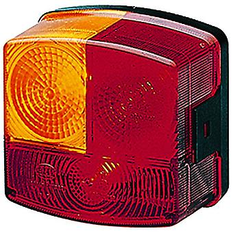 HELLA 002776231 2776 Series  Red and Amber Left Stop/Turn/Tail Lamp
