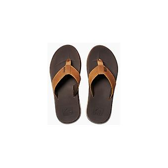 Reef Leather Fanning Low Leather Sandals