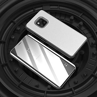 For Xiaomi Redmi grade 6 Pro clear view mirror mirror smart cover silver protective sleeve cover pouch case cover new case wake UP function