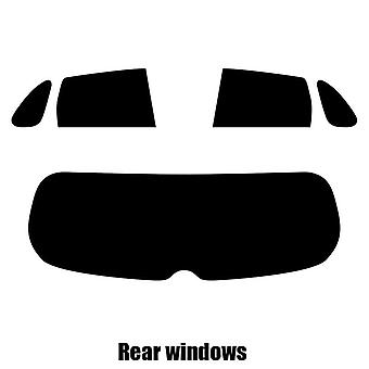 Pre cut window tint - Citroen C4 Air Cross - 2012 to 2016 - Rear windows