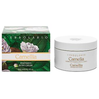 L'Erbolario Scented Body Cream Camellia 200 ml