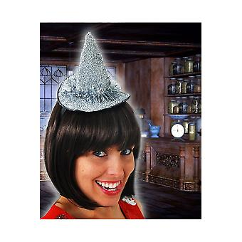 Hair accessories  Small silver witch hat