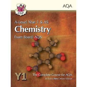 New A-Level Chemistry for AQA - Year 1 & AS Student Book with Online E