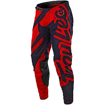 Troy Lee Designs Red-Navy 2018 SE Air Shadow MX Pant