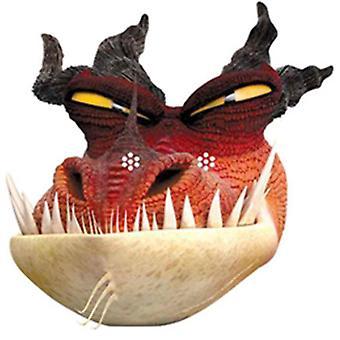 Monstruosa pesadilla como a tren su dragón 2 partido tarjeta mascarilla (solo)