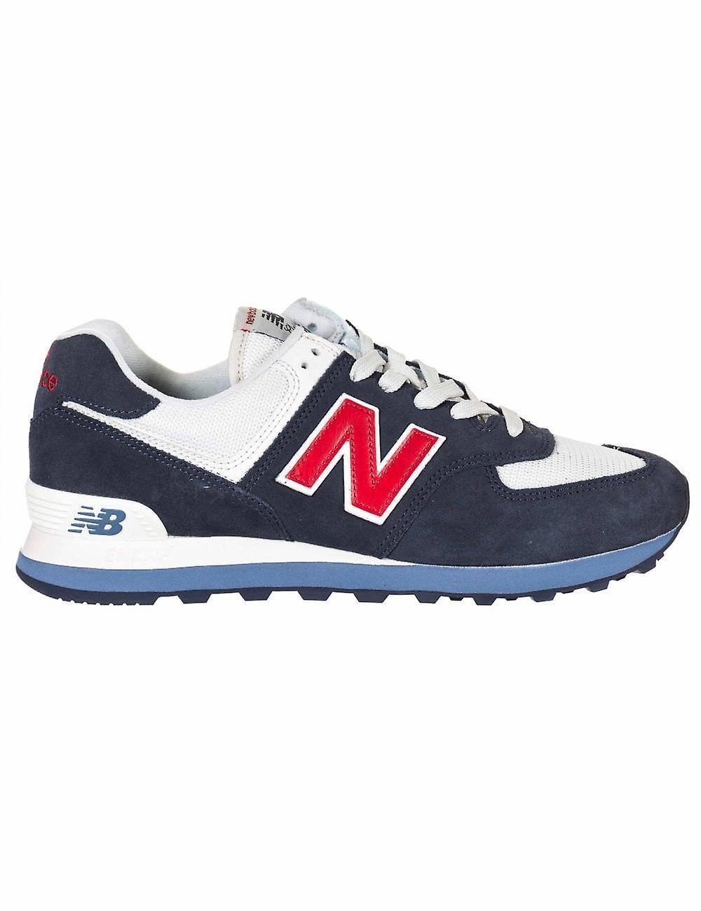 New Balance Ml574egb Trainers - Blue
