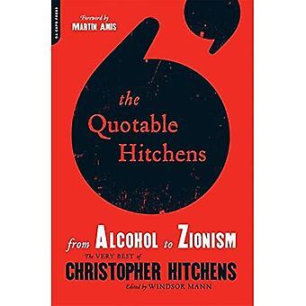 Quotable Hitchens: Van Alcohol tot zionisme
