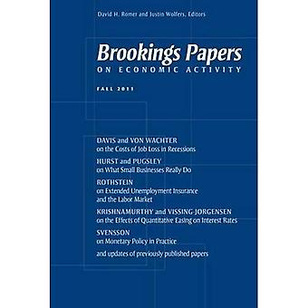 Brookings Papers on Economic Activity : automne 2011