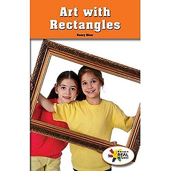 Art with Rectangles (Rosen Real Readers: Stem and Steam Collection)