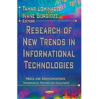 RESEARCH OF NEW TRENDS IN INFORMATIONAL (Media and Communications: Technologies, Policies and Challen)
