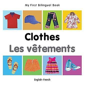 Min första tvåspråkiga bok - kläder - svenska-franska
