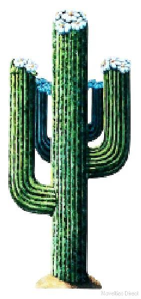 Western Decoration Jointed Cactus 4.25ft high (1.3m)