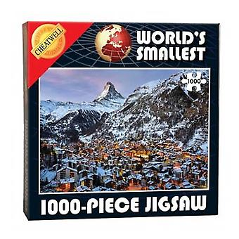 World's Smallest 1000 Piece Jigsaw - Matterhorn (1000 Pieces)