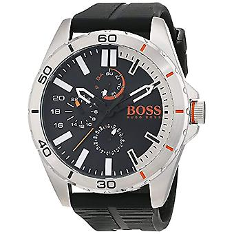 Hugo Boss Orange mens quartz watch 1513290, multi display dial and silicone strap