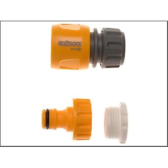 2175 THREADED TAP & HOSE END CONNECTOR (TWIN PACK)