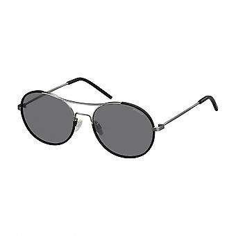 Polaroid zonnebril zwart Unisex 233628 lente/zomer