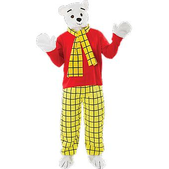 Orion costumes Mens Rupert Bear Cartoon Story livre TV Déguisements costume