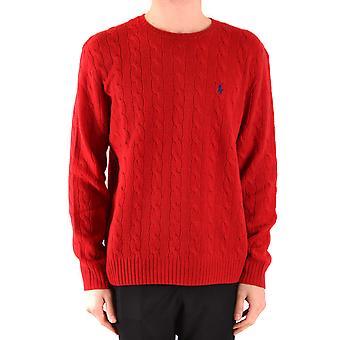Ralph Lauren rote Wollpullover