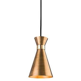 Firstlight-1 ljus tak hänge antik guld, mässing-7680AG