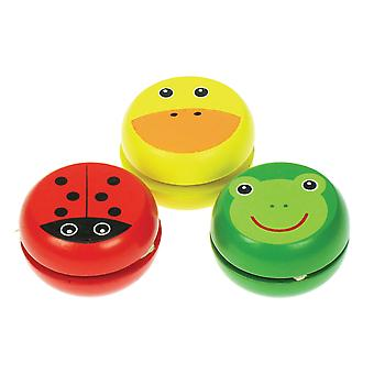 Bigjigs Toys Animal Yo-Yo's