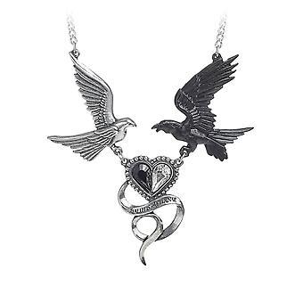 Alchemy Gothic Epiphany Of St Corvus Pewter Pendant
