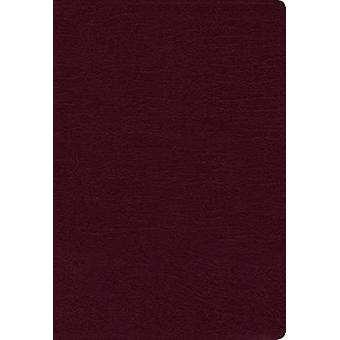 NIV - Thinline Bible - Bonded Leather - Burgundy - Indexed - Red Lett