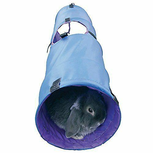 Rosewood Rabbit Large Activity Tunnel Guinea Pig & Small Animal (Blue or Grey)