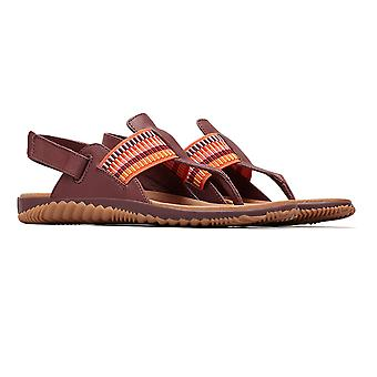 Sorel Out N About Plus Sandal -Elderberry Uk 8