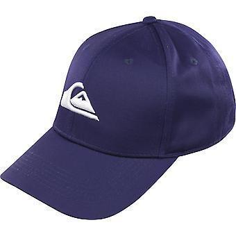 Quiksilver Mens Decades Snapback Hat - Moonlit Ocean Blue