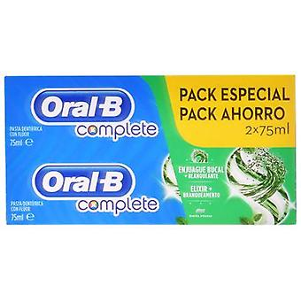 Oral B Toothpaste + Whitening Pack 2 in 1 2x75 ml