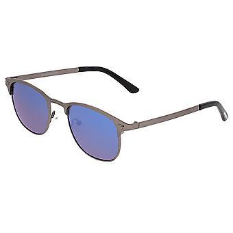 Breed Phase Titanium Polarized Sunglasses - Gunmetal/Blue