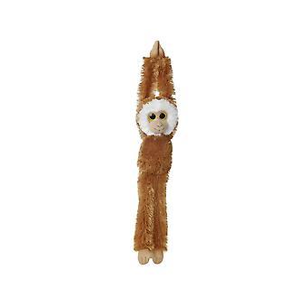 Hanging 19-inch Gibbon (Brown)