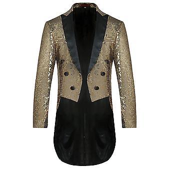 Allthemen Mens Stylish Sequin TUX Weddikng Party Tuxedo for Men
