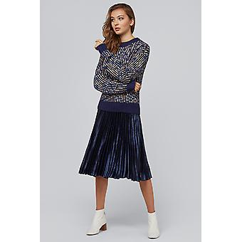 Louche Killam Space Navy Dye Jumper Navy