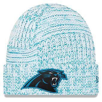 New Era Sideline 2019 naisten neule hattu-Carolina Panthers
