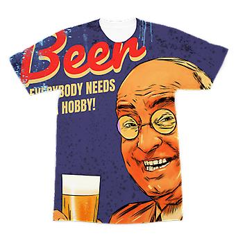 Classic beer premium sublimation adult t-shirt