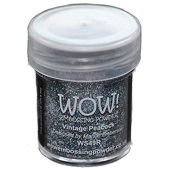 Wow! Embossing Powder 15Ml Vintage Peacock Wow Ws49r
