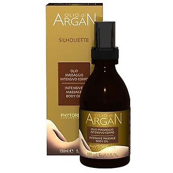 Phytorelax Olio di argan silhouette intensive massage body oil 150ml