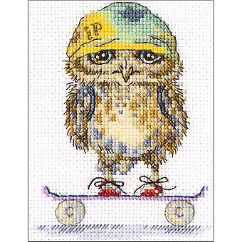 Skater gezählt Cross Stitch Kit-4