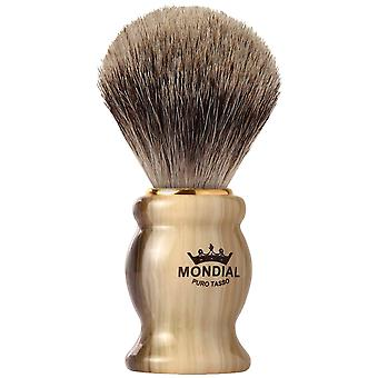 Mondial 1908 Badger Shaving Brush Horn Diameter 22 mm (Man , Shaving , Brushes)