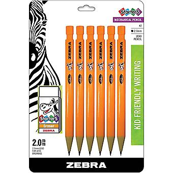 Cadoozles Mechancial Pencils 6/Pkg-Orange  Z52816