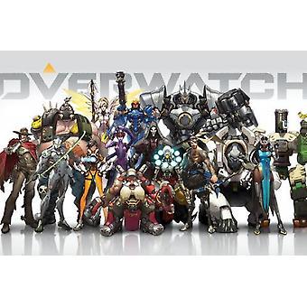 Overwatch Gaming-Plakat Poster Druck