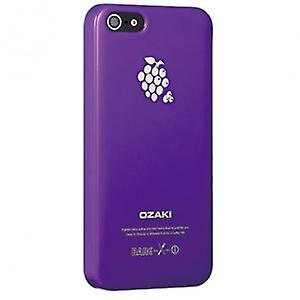 Ozaki OC537GR O! Coat fruit banana cover case iPhone 5 / 5s - purple