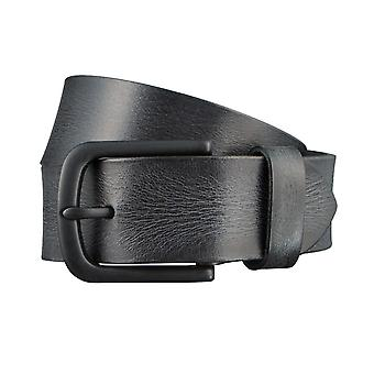 ALBERTO X-men belts men's belts leather belt dark grey 3068