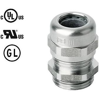 Cable gland with strain relief M16 Stainless steel Stainless steel Jacob 50.616 ES 1 pc(s)