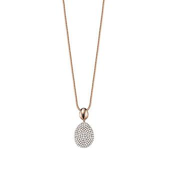 ESPRIT collection dames collier necklace argent Rosé NELIA ELNL92621B420